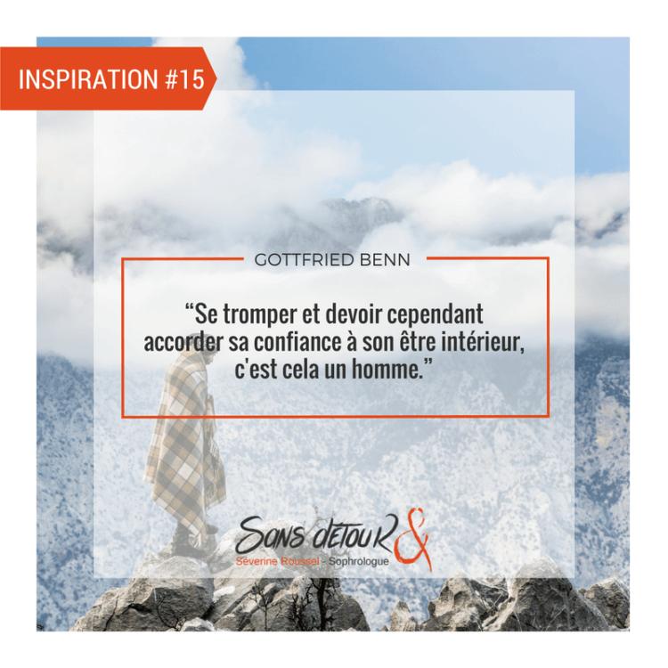 Séverine Roussel - Sophrologue Sans détouR - INSPIRATION#15 - Se tromper