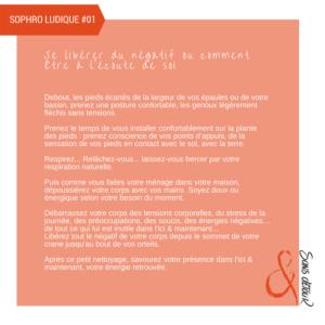 Séverine Roussel - Sophrologue - Sophro déplacement du négatif